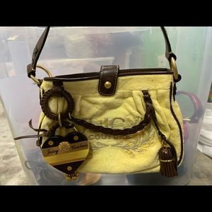 Juicy Couture Yellow Hand bag